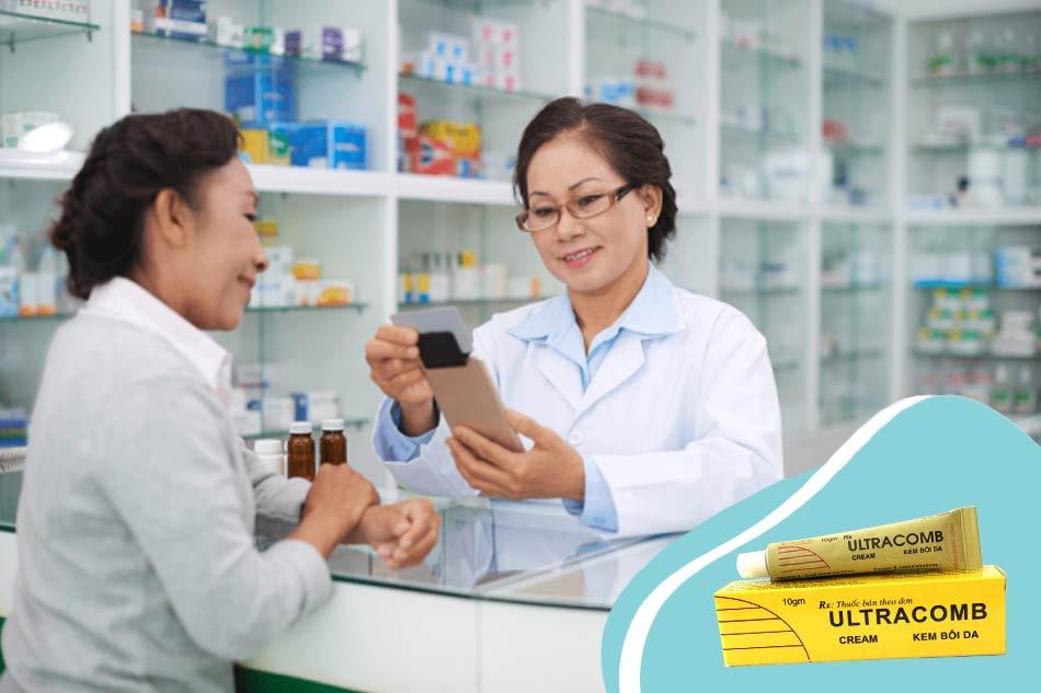 Thuốc bôi Ultracomb giá bao nhiêu?