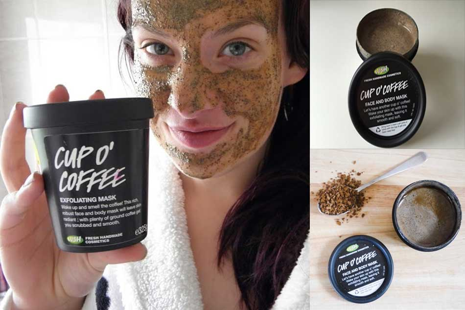 Cup O' Coffee Face and Body Mask của Lush