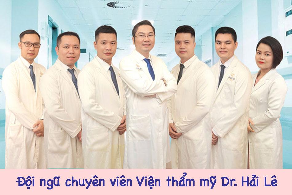 Đội ngũ chuyên viên Viện thẩm mỹ Dr. Hải Lê