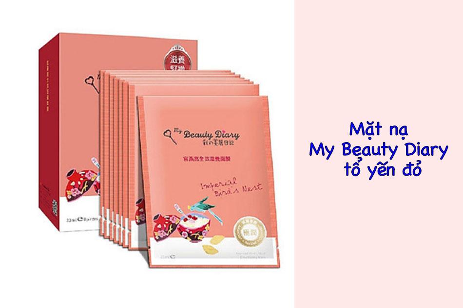 Mặt nạ My Beauty Diary tổ yến đỏ