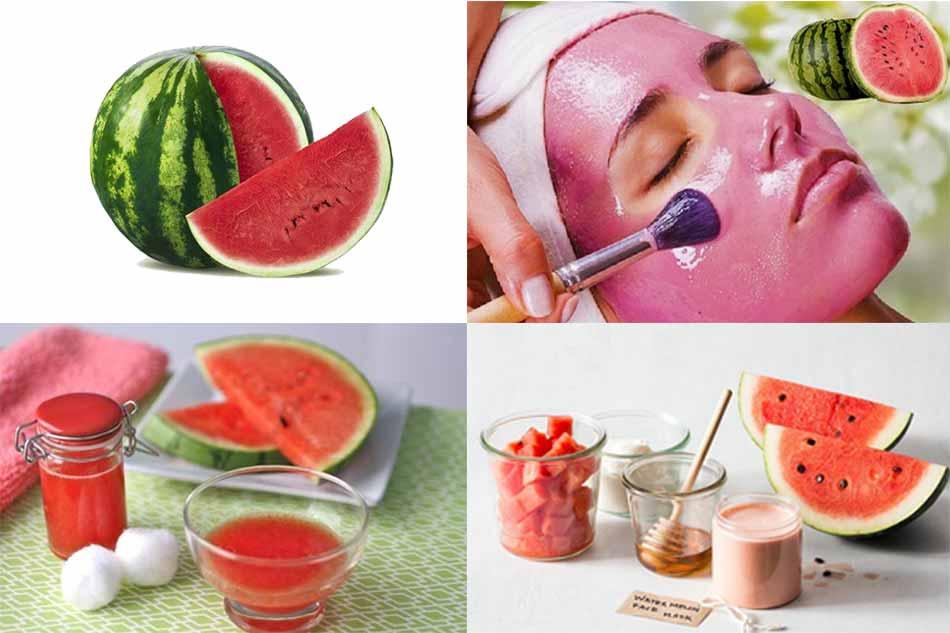 Một số cách chăm sóc da từ mặt nạ dưa hấu đơn giản mà hiệu quả cao