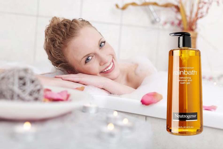 Sữa tắm trị mụn Neutrogena Rainbath Shower and Bath