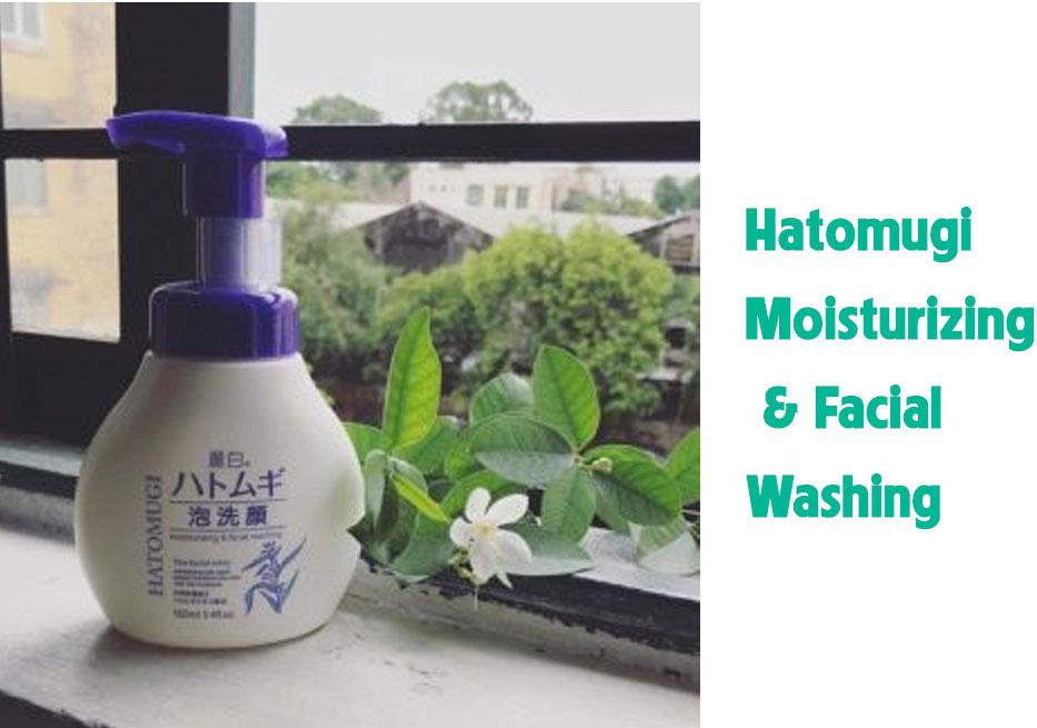 Sữa rửa mặt Hatomugi trắng